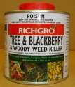 Tree Blackberry and Woody Weedkiller